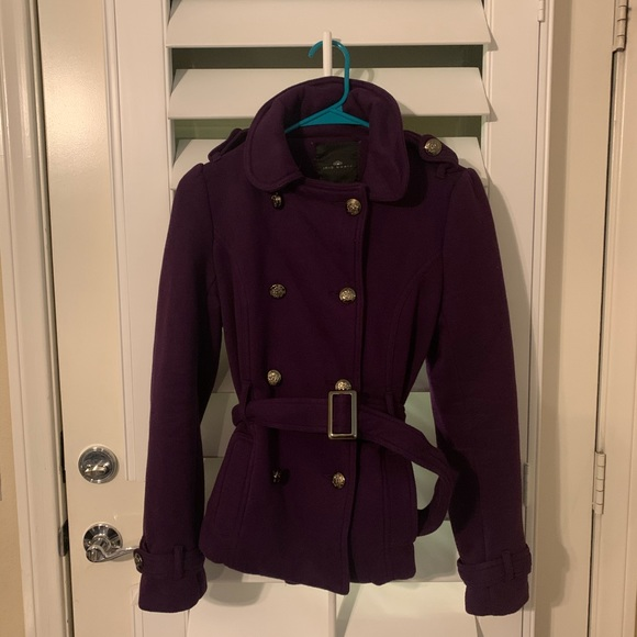 Iris Basic Jackets & Blazers - Purple Coat 2/$12 BUNDLE DEAL